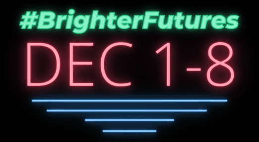 #BrighterFutures campaign image